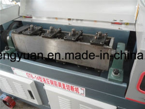 High Speed Steel Wire Rod Straightening and Cutting Machine for Steel Bar pictures & photos