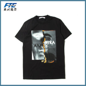 Custom Unisex Fashion Cotton Printed T-Shirt pictures & photos