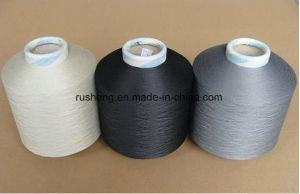 100% Polyester Twisted Yarn for Cloth Label pictures & photos