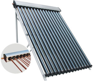 U Pipe Solar Collector (New Technology Pressurized Solar Thermal System with Low heat Loss)