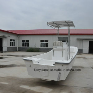 Liya 19ft Fishing Panga Boat for Sale Fiberglass Fishing Boat with Engine pictures & photos