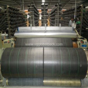 with Lines High Quality Polypropylene Woven Weed Mat pictures & photos