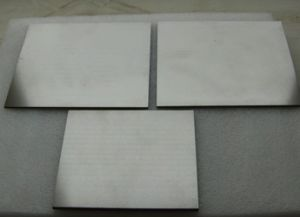 GB/T3875-83 Washed Appearance 0.5*100*100 Wolfram Tungsten Sheet/ Tungsten Plate pictures & photos