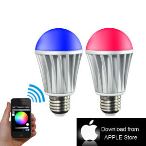 Hot Sell 7W RGB/Warm White WiFi LED Bulb pictures & photos