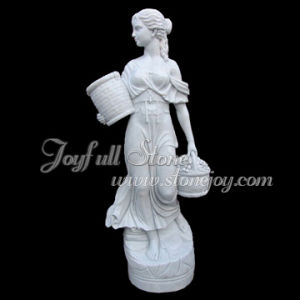 White Marble Statues (KLB-027-2)