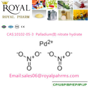 Palladium (II) Nitrate Hydrate 10102-05-3 39.2% pictures & photos