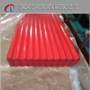 Prime A792m Prepainted Galvalume Corrugated Roofing Sheet pictures & photos