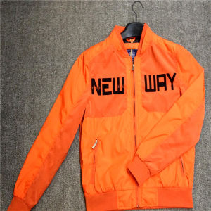 Orange New Design August Super Lightweight Man Jackets with English Word pictures & photos