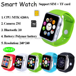 Bluetooth Smart Watch Compatible with Android and Ios Phone (GM18S) pictures & photos