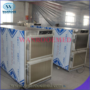 Ga302 Medical Mortuary Freezer Refrigerator for Two Corpses pictures & photos