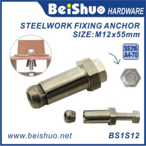 M12 Steelwork Expansion Anchor Bolt Boxbolts for Constraction Hardware pictures & photos