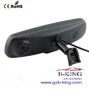 OEM Bracket 140 Degree HD Car DVR Recoder with LCD Built-in Rear View Mirror pictures & photos