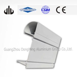600mm Diameter 6063 Extrusion Aluminium Profile (Customized Design)