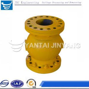 Carbon Steel Flange Connection Pneumatic Pinch Control Valve