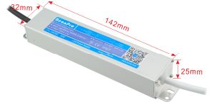Hytite IP67 Waterproof V LED Driver Slim Aluminum Size Power Supply with Ce Bis RoHS SAA pictures & photos