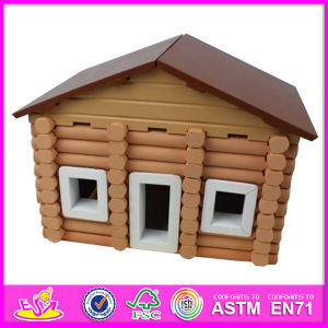 2015 New Wooden Kids Toy House, Lovely Design Children Toy House and Hot Selling Baby Wooden Toy House W06A074 pictures & photos