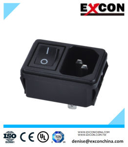 AC Socket S-03-12s-1 Rocker Switch Electrical Socket pictures & photos