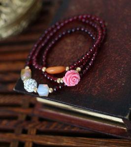 Beautiful Fashion Jewelry Garnet Bracelet (SL3601)