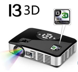 HD 3D Mini LED Projector I3 3D