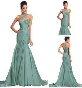 Elegant Sexy No Sleeve Slim Strap Long Evening Dress