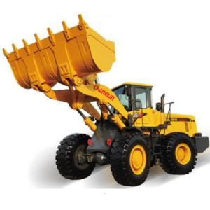 Changlin Large Wheel Loader with Shangchai Engine pictures & photos