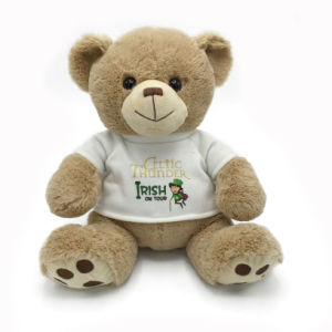 Cute Plush Teddy Bear with Custom Made T Shirt pictures & photos