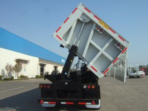 Cimc Heavy Duty Three Axle Dump Trailer Truck Chassis pictures & photos
