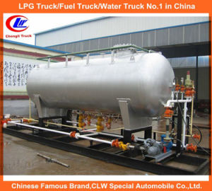 5000L 10000L LPG Skid Mounted Dual Dispensing Filling Station pictures & photos