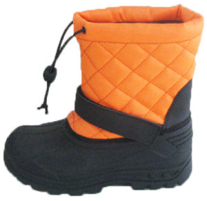 Classic Type Children Boots Snow Boots Injection Shoes (SNOW-190007) pictures & photos