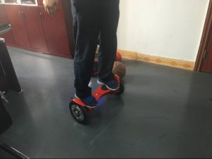 off Road Scooter 2 Wheel Balancing Scooter with Bluetooth and LED Light Electric Mobility Scooter pictures & photos