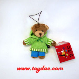 Plush Sweat Bear Key Chain pictures & photos