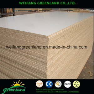Embossed Finished Laminated Particle Board pictures & photos