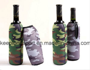 Full Color Printing Neoprene Bottle Cooler, Neoprene Bottle Holder for Beer Bottle pictures & photos