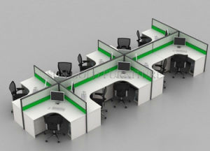 Modern 4 Seats Office Partition Cubicle Workstation (SZ-WS011) pictures & photos