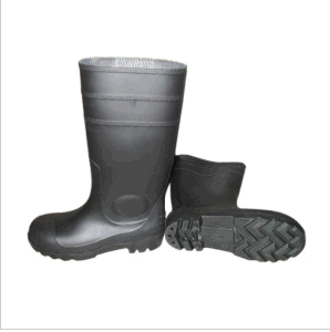 High Quality Work Rain Boots (black upper/Black Sole) pictures & photos