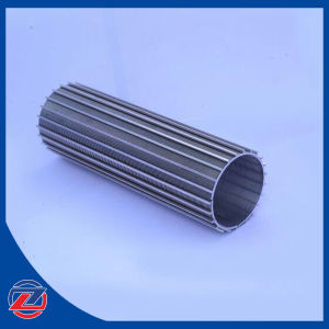 Stainless Steel 316 Welding Screen Filter Mesh, with 25 Micron V Shape Filtering Slot pictures & photos