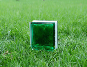 House Decorative Beautiful Inner Green Glass Brick/Block pictures & photos