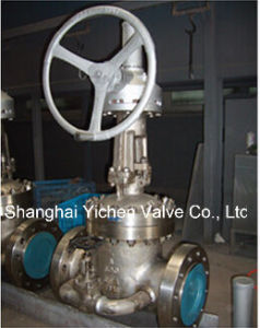 Worm Geared Gate Valve with Bypass Valve pictures & photos
