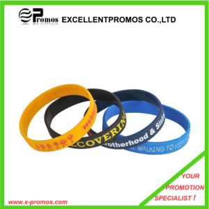 Promotional Top Quality Silicone Rubber Wristband (EP-S7102) pictures & photos