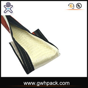 High Tempertaure Insulation Fire Sleeve with Magic Tape pictures & photos