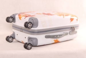 Maple Leaves Printing 3 PCS Luggage Set Best Travel Trolley Bags pictures & photos