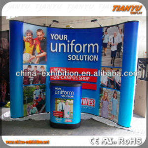 Hot Sale Aluminum Folding Pop up Wall Display Stand pictures & photos