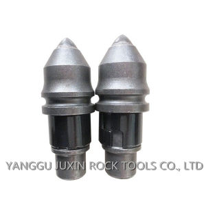Round Shank Chisel Bits B47k22h Bullet Teeth for Foundation Drilling Tools