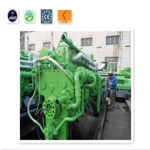 Internal Combustion Engine Low Rpm Biomass Generator Set pictures & photos