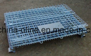 Metal Steel Stackable Wire Container pictures & photos