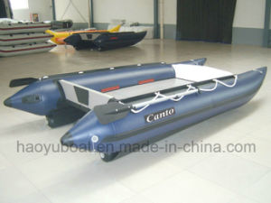 High Speed Boat Cat Boat Hy-G430 with PVC Tube and Aluminum Floor pictures & photos