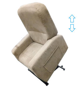 Electric Recliner Heating and Vibration Old Man Massage Sofa pictures & photos