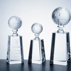 New Arrival Customized Design Popular Crystal Glass Trophy Award for Promotional Gifts pictures & photos