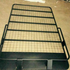 Black Roof Rack Iron Material