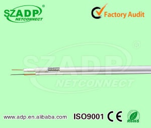 New CCTV Cable Caoxial Cable Rg59 RG6 Rg11 + Optical Fiber Cable TV Security Wire pictures & photos